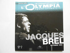 ► JACQUES BREL  A L'OLYMPIA 1964 - CONCERT MYTHIQUE - UNIVERSAL MUSIC FRANCE