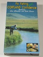 VHS Video: Fly Fishing with Cortland Confidence featuring Leon Chandler and Jack