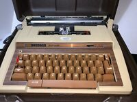 Vintage Corona Smith Portable Typewriter Electra Automatic 1975 Electric