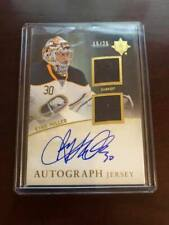 11/12 Ultimate Collection Hockey Auto Jersey /25 Ryan Miller