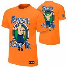 WWE Shop Official John Cena Respect Earn It t-shirt SIZE L