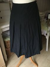 Pleated Navy Blue Skirt Size 10 From Lucy