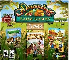 Amazing Farm Games (PC, 2011) 3 Games