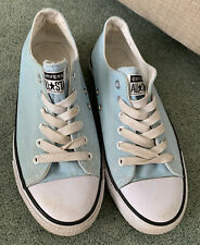 Converse All Star Ladies Size 6 / 39 Blue Shoes Canvas