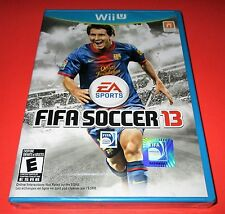 FIFA Soccer 13 Nintendo Wii U *Factory Sealed! *Free Shipping!