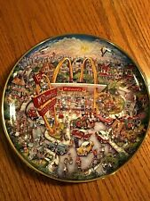 McDonalds Golden Moments Collectors Plate
