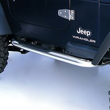 "3"" Stainless Side Step Nerf Bars Jeep Wrangler TJ 97-2006 11593.04 Rugged Ridge"