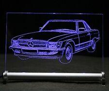 LED-Leuchtschild - graviert ist  SL C107    Autogravur SLC 107