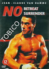 NO RETREAT NO SURRENDER - JEAN CLAUDE VAN DAMME - DVD SEALED