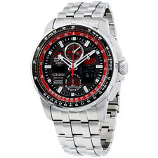 Citizen Skyhawk AT Black Dial Stainless Steel Men's Watch JY805957E