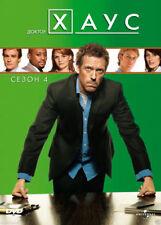 HOUSE M.D. SEASON 4/ Доктор Хаус: Сезон 4 (DVD, 2010) Russian,English