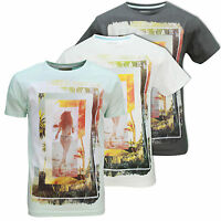 Mens Soulstar T-Shirt Beach Palm Tree Hot Girl Summer Surf Contrast Psychedelic