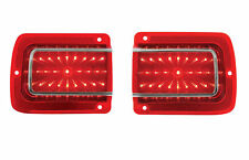 1965 Chevelle / 1965 Malibu LED Tail Lights w/ Trim and Lens - High Quality