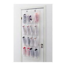 IKEA SKUBB Hanging Shoe Organiser Hanger Storage Holder Rack w/ 16 Pockets White