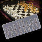 Silicone Resin Chess Mold DIY Jewelry Pendant Making Tool Mould Craft Handmade