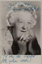 Margaret Rutherford Miss Marple Mörder ahoi! Autogramm Autograph Oscar