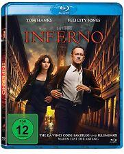 """Inferno [Blu-ray](NEU/OVP) dritter Teil der""""Illuminati"""" reihe mit Tom Hanks /Dan"""