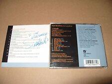 Scott Hamilton - Blues Bop & Ballads (1999) cd Signed Booklet