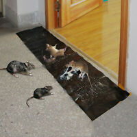 3Pcs Large Size Mice Mouse Rodent Outdoor Glue Traps Indoor Super Sticky Rat
