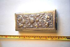 Large Vintage Russian 84 (875) Silver Cigarette Box/case