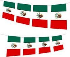 Cinco de Mayo Huge 33ft Flag Bunting Mexico Mexican
