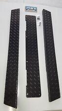 YAMAHA GOLF CART-DIAMOND PLATE ROCKERS G2-G9   Rocker panels and kick. BLACK