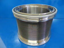 """High Vacuum SS Flexible Bellows 7""""OD 5""""ID w/ 2 NW-160 Centering Rings"""