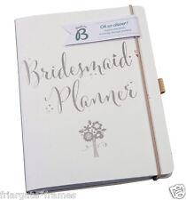 Busy B Luxury Bridesmaid Planner Wedding Journal Organiser Notebook GREAT GIFT