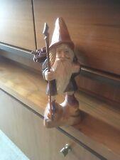 Wander Holzfigur Handgeschnitzt  Holzschnitzerei