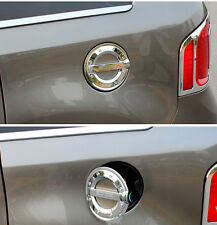 Chrome Fuel Tank Gas Cap Lid Cover Trim for Ford Edge 2011-2013 ABS