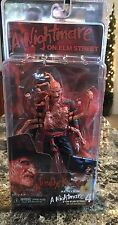 "NECA NIGHTMARE On ELM STREET 4 Dream Master Freddy Krueger 8"" NEW"