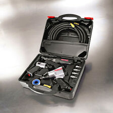 Craftsman 10 pc. Air Tool Set Impact Wrench Ratchet Hammer Hose Mechanic Box