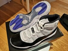 AUTHENTIC Nike Air Jordan 11 XI Retro Black White Concord UK8.5 US9.5 NEW RARE