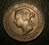 Old Canadian Coins 1894 Canada Highgrade Large Cent