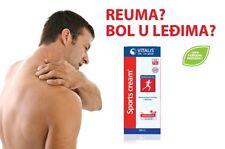 VITALIS Sports cream 100ml. Antirheumatic, effective in rheumatism, arthritis.
