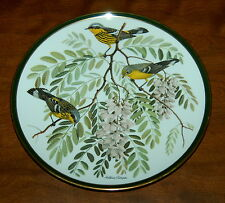 Franklin Porcelain Songbirds of the World Collector Plate The Magnolia Warbler