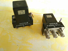 RF Relay relais, RADIALL, BNC (F), 12 volts, r559402, par élément