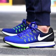 NIKE AIR ZOOM PEGASUS 33 Running Trainers Shoes Casual - UK 11.5 (EU 47) Concord