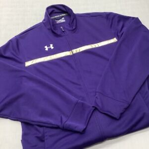 Under Armour UA Men's Full Zip Jacket Sweatshirt Training Track Suit Size XL
