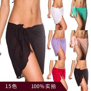 Women Sexy Chiffon Summer Beachwear Bikini Swimwear Cover Up Skirt Supply