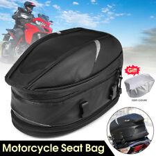 Motorcycle Tail Luggage Package Back Tank Bag Waterproof Multi Riding Saddlebag