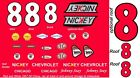 #8 JOHNNY SEAY 1957 CHEVROLET BEL AIR 1/43rd Scale Slot Car Decals