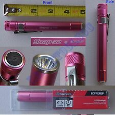 New Snap On Pink LED Mini Aluminum Flashlight - ECFPEN5P Pocket Light