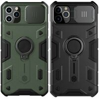 Nillkin Phone Cover Case For iPhone 11 Pro Max Black/Army Green Camera Privacy