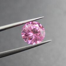 Pink Sapphire 1.46Ct 6MM Round Cut AAAAA Loose Gemstone