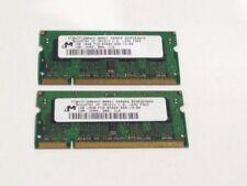 Memoria RAM Micron per prodotti informatici con velocità bus PC2-6400 (DDR2-800) da 2GB
