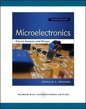 Microelectronics Circuit Analysis and Design 4E by Neamen (Paperback, 2009)