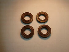 NEW Triumph Bonneville & SE Cam Cover Bolt Seals (Set of 4) - Later Brown Type