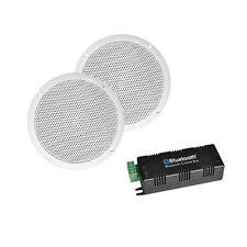 """E-Audio Bluetooth Verstärker mit 5"""" Decken Lautsprecher Multi Room System"""