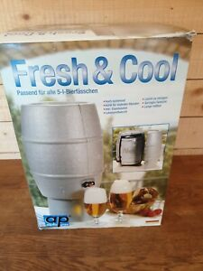 5L Keg Cooler Cover Reusable Ice Packs Freezer Camping Cool Bag/Box